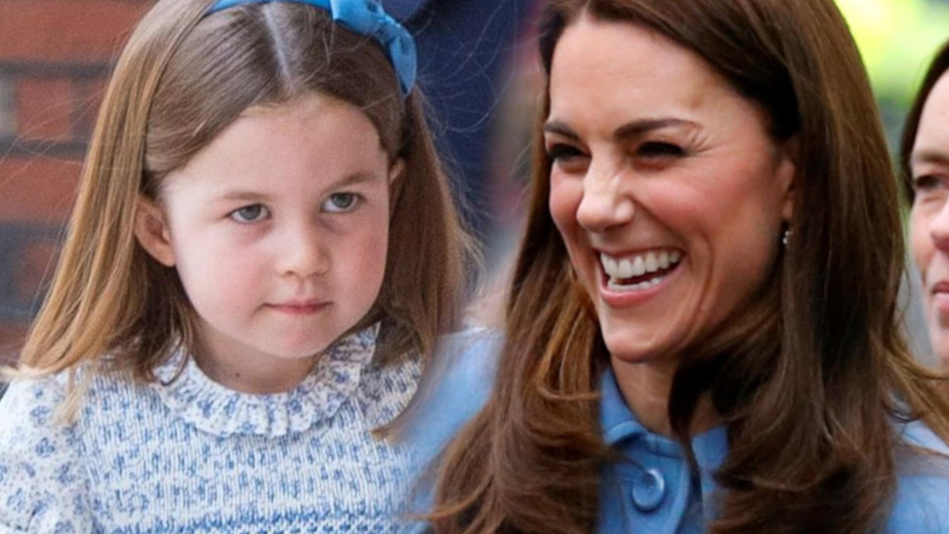 Przypadkowo wyszło na jaw, jak księżna Kate słodko nazywa księżniczkę Charlottę