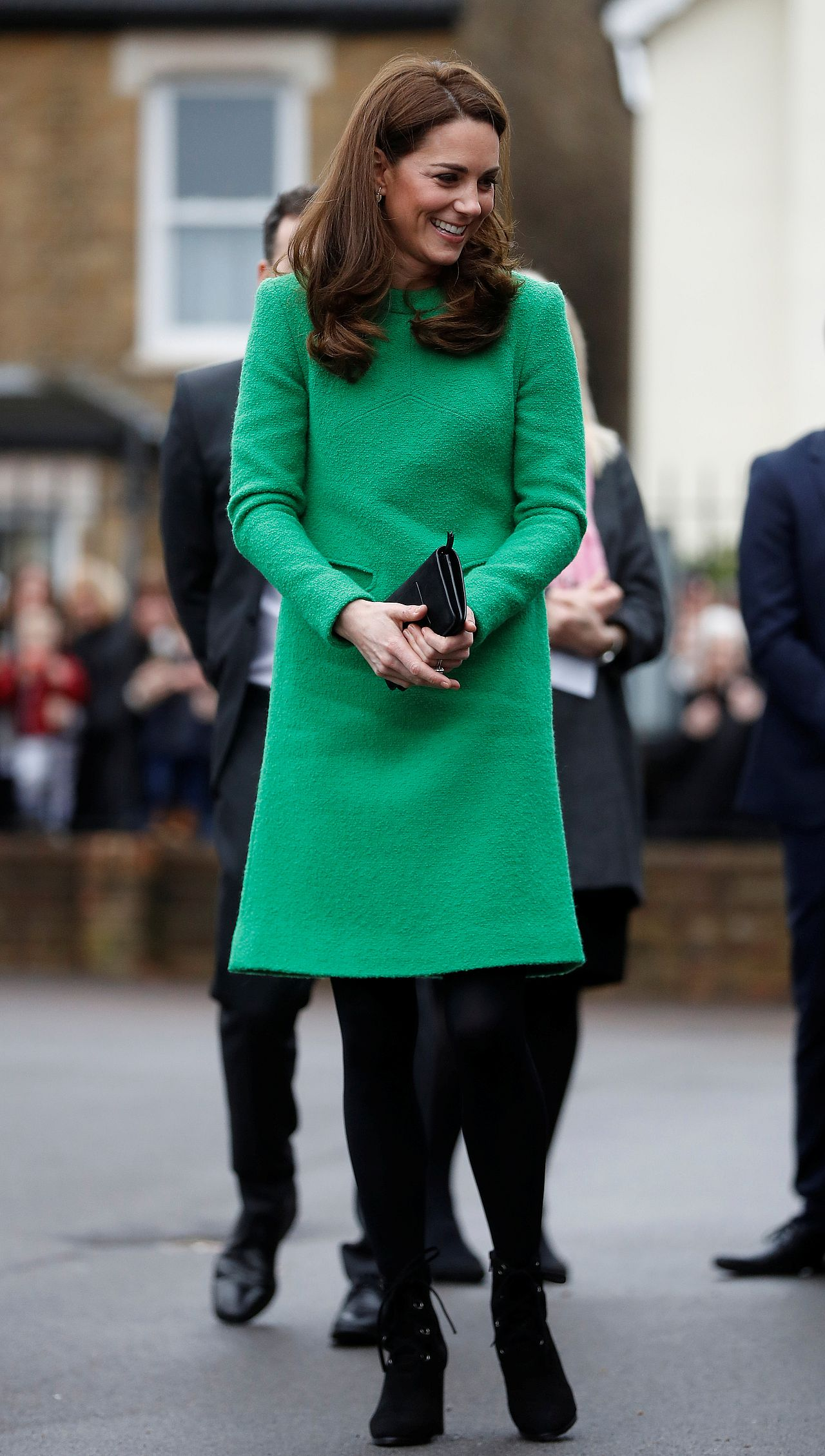 The Duchess Of Cambridge Visits Schools In Support Of Children's Mental Health