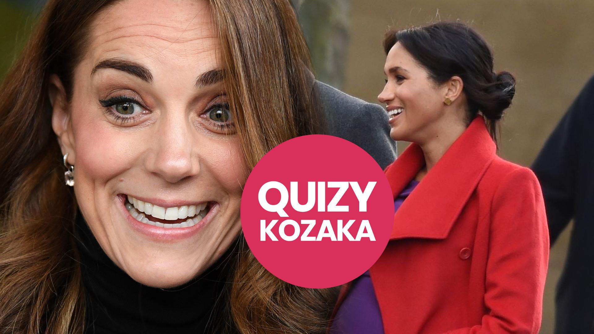 Jesteś jak księżna Kate, czy Meghan Markle? (QUIZ)