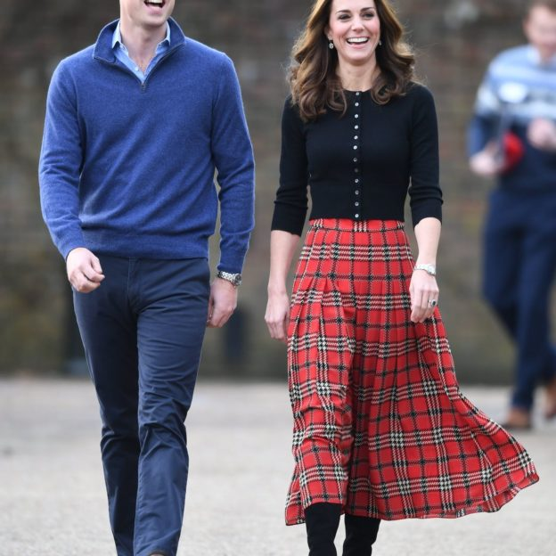 The Duke and Duchess of Cambridge host a Christmas party