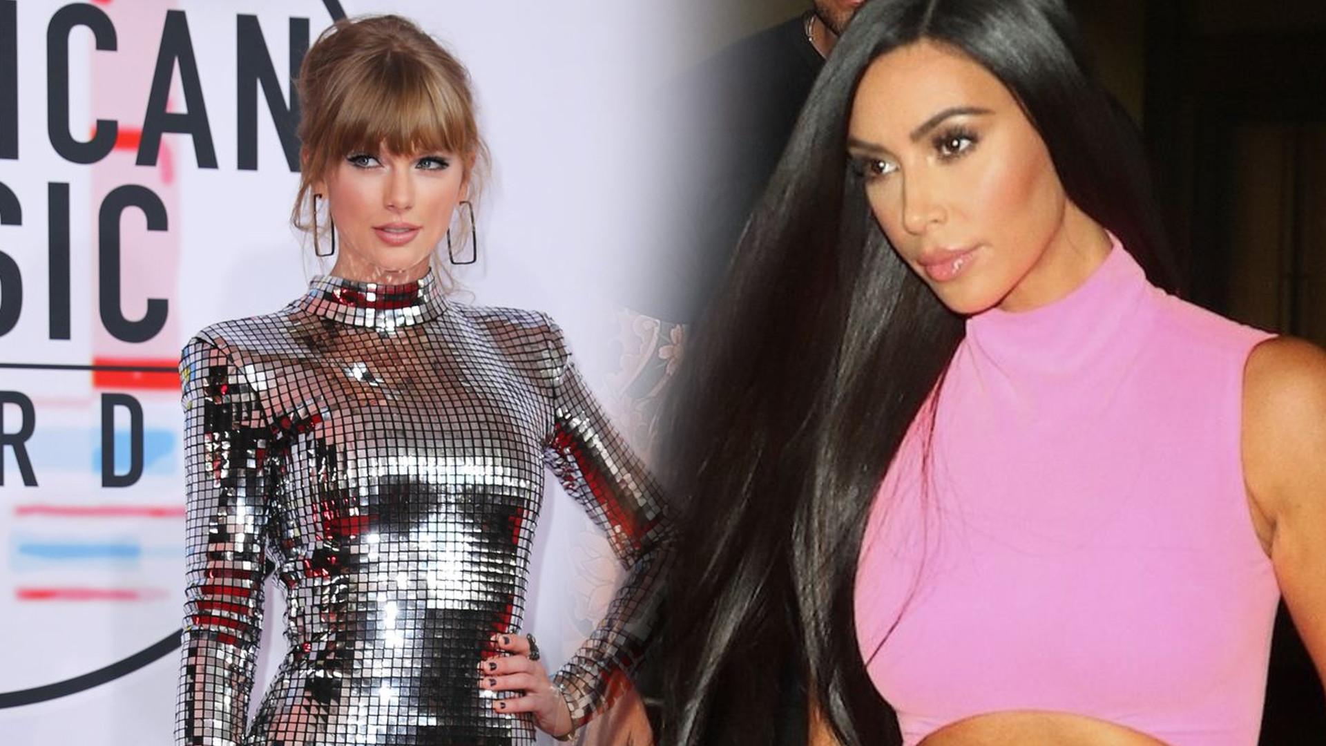Taylor Swift znów ATAKUJE Kim Kardashian – celebrytka jest zszokowana jej słowami
