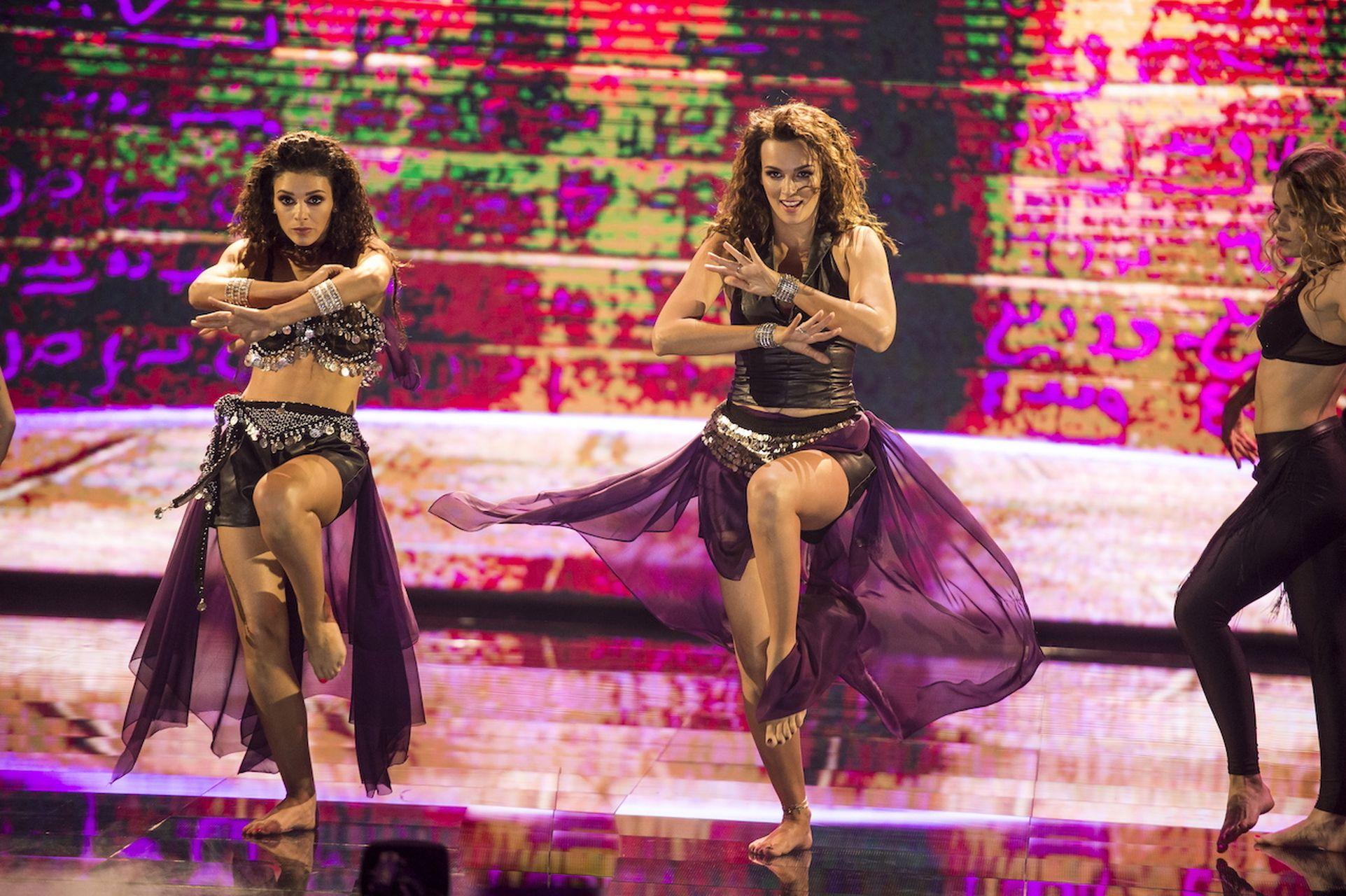 Paulina Krupińska, Klaudia Halejcio w Dance, Dance, Dance