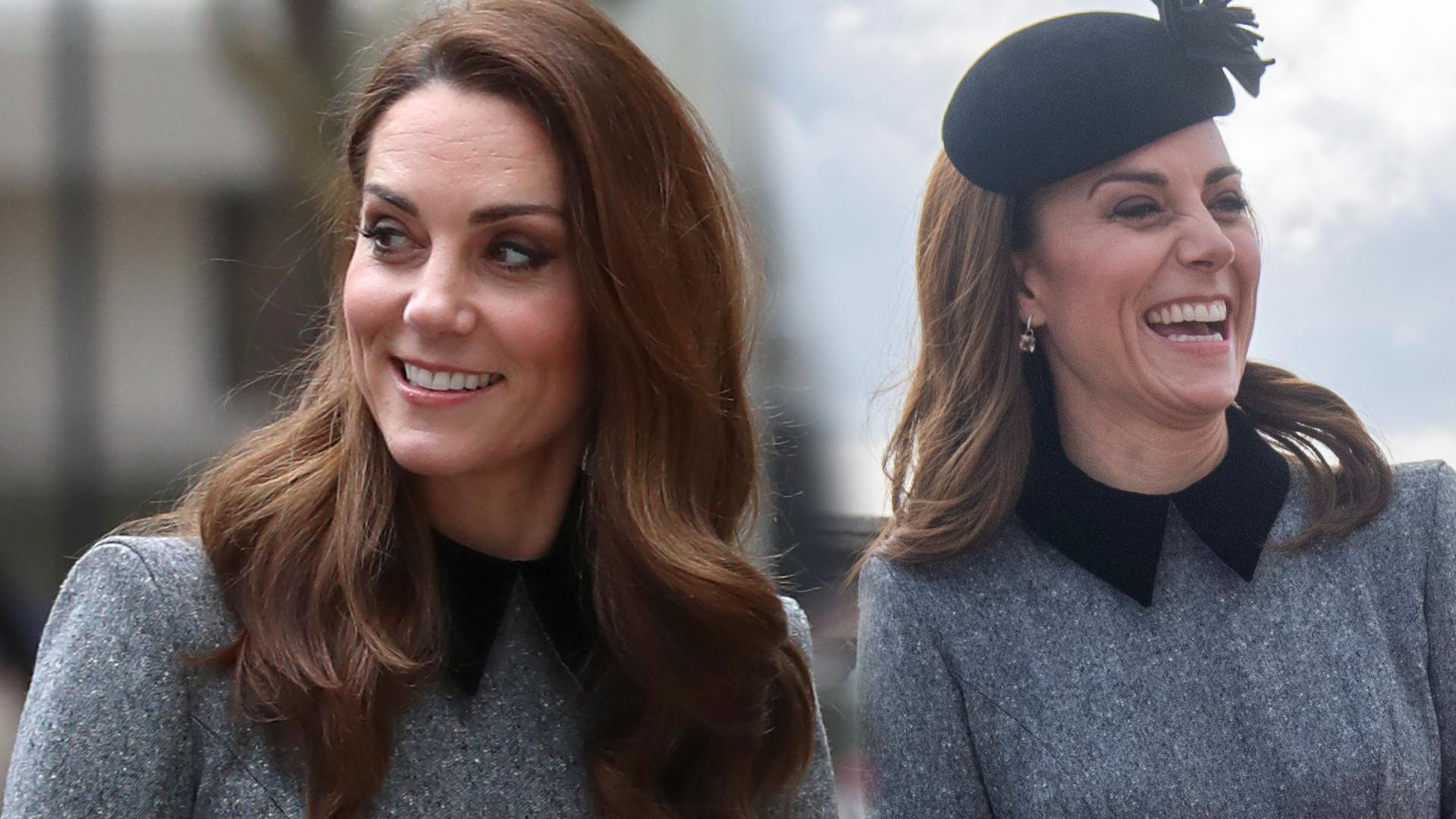 Księżna Kate na spotkaniu z królową Elżbietą – spójrzcie na jej szczupłe nogi! (ZDJĘCIA)