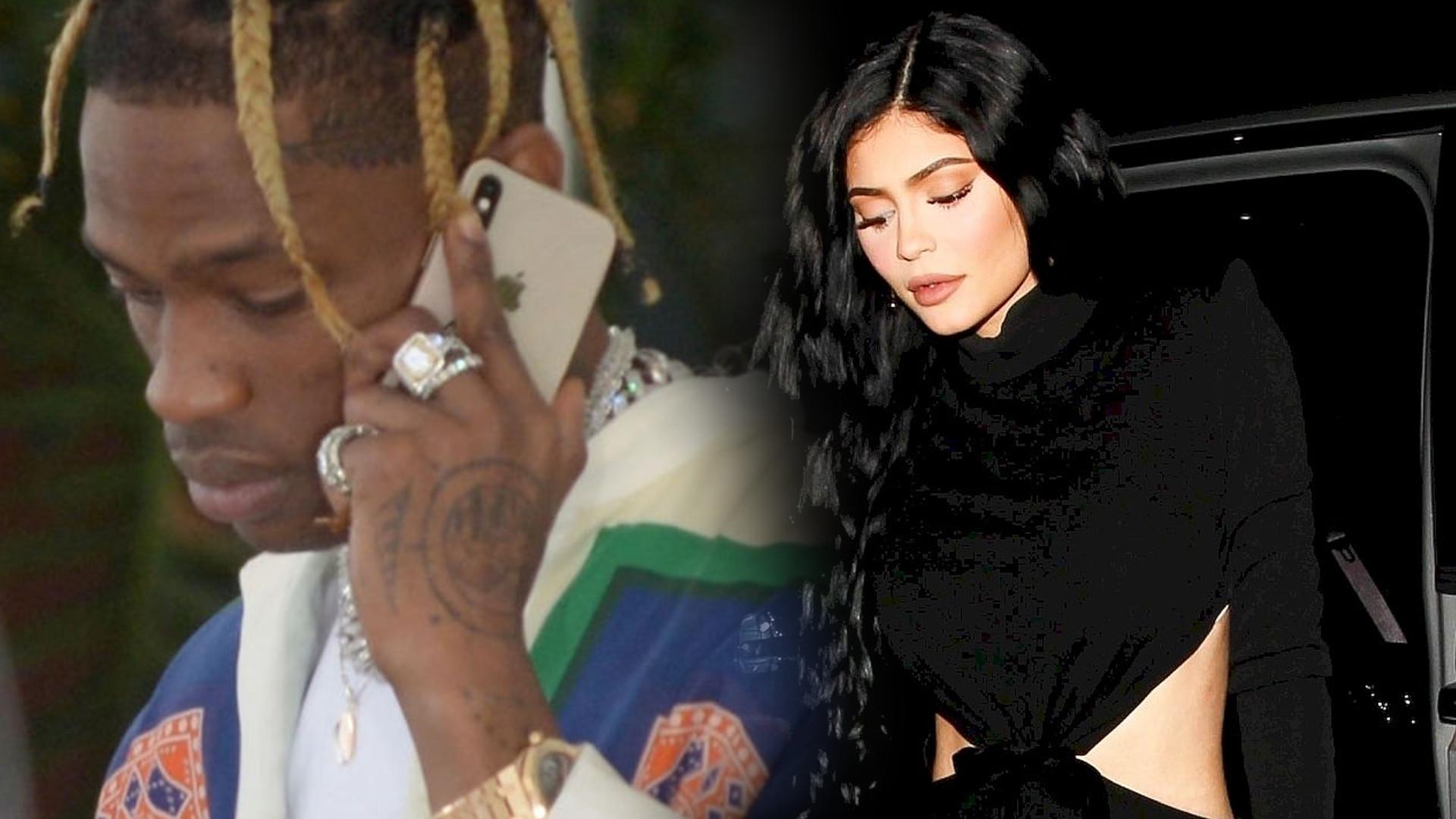 Kylie Jenner i Travis Scott mają kryzys w związku! Kylie wciąż ma podejrzenia