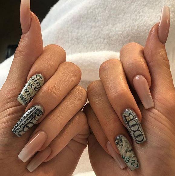 kylie jenner manicure