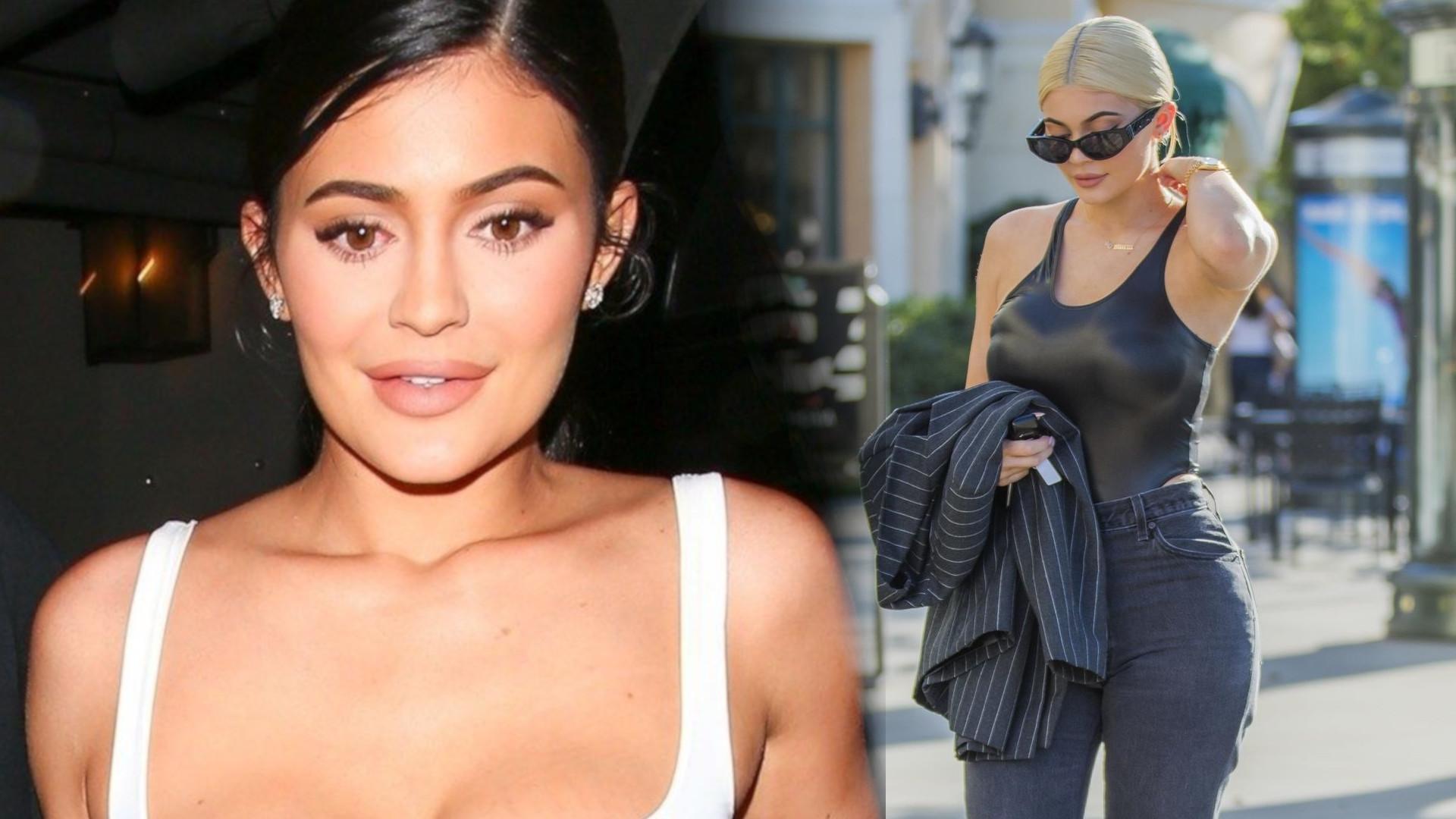 Kylie Jenner bardzo SCHUDŁA. Pokazała brzuch