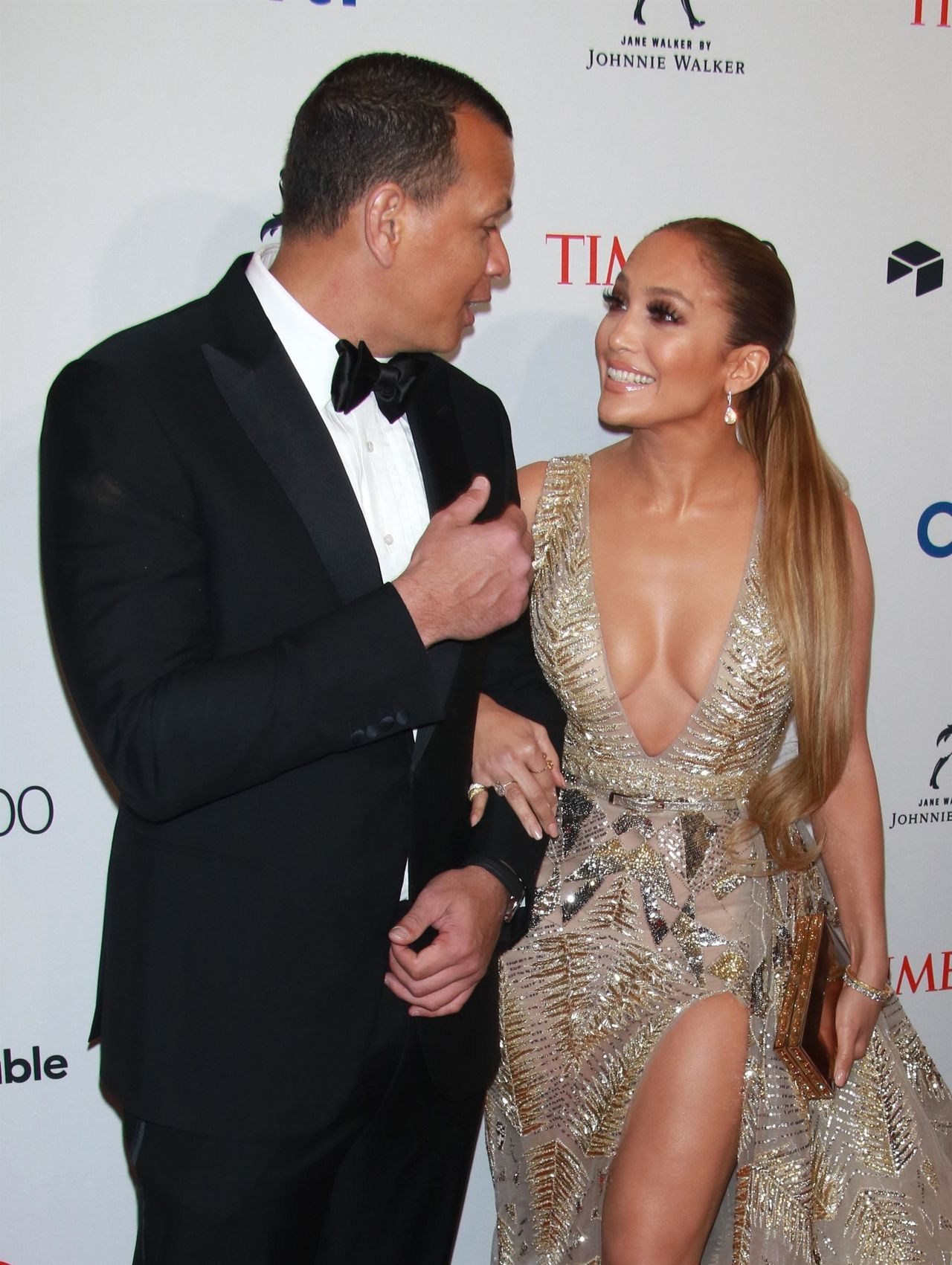 Jennifer Lopez and Alex Rodriguez at the 2018 Time 100 Gala Jennifer Lopez, Alex Rodriguez