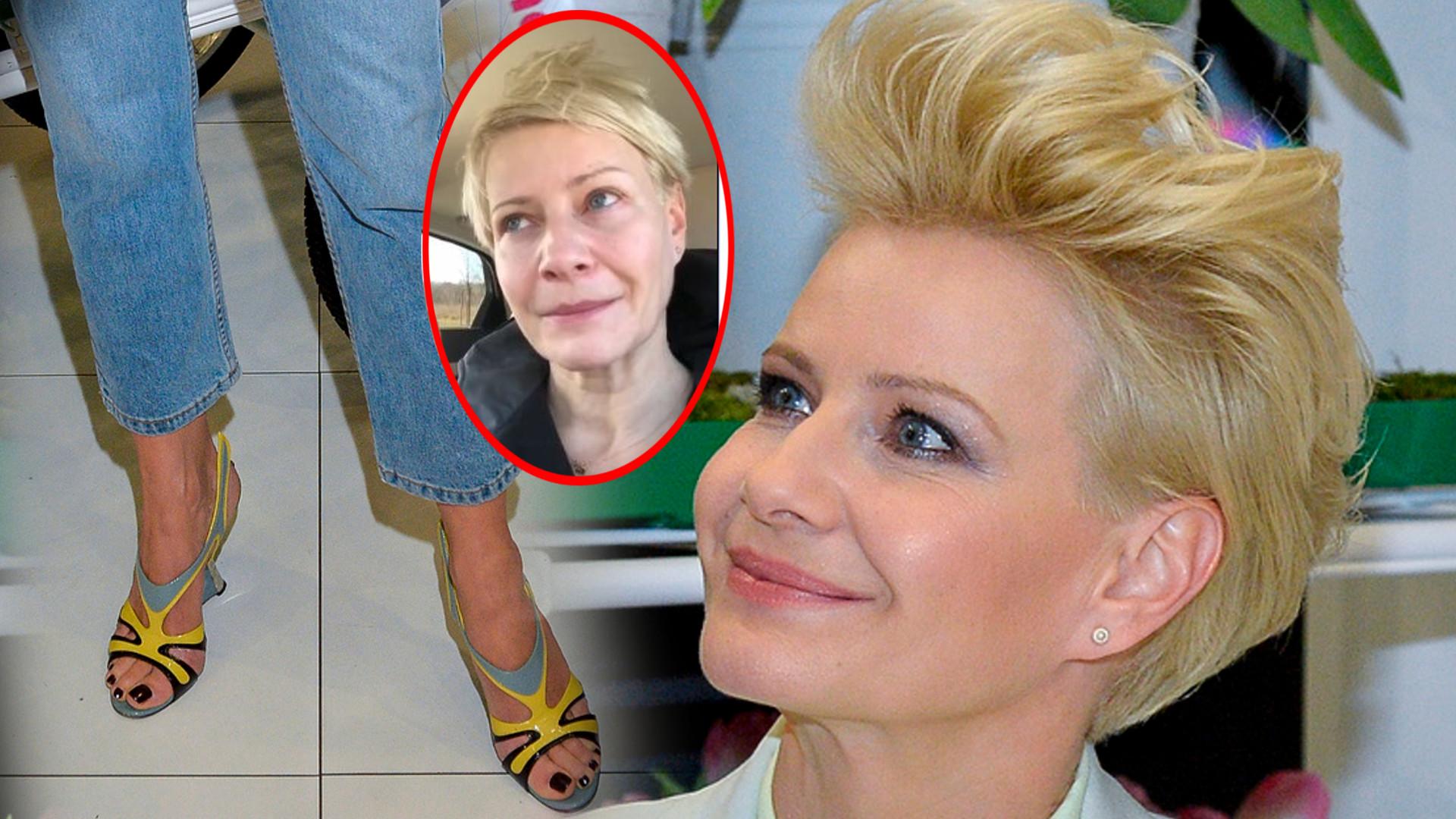 Małgorzata Kożuchowska zmyła makijaż i złożyła życzenia kobietom na swoim Instagramie