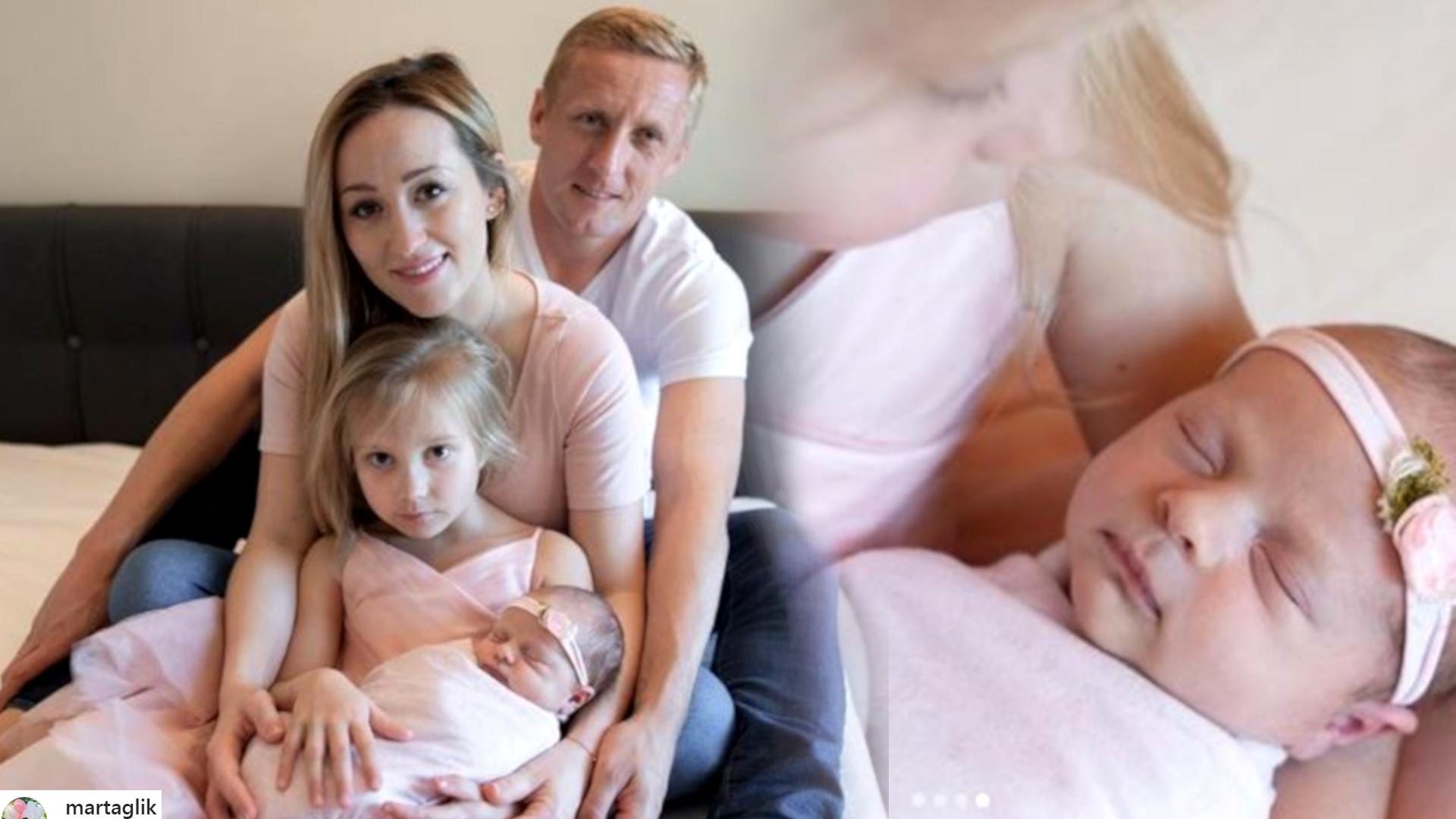 Marta Glik zdradziła oryginalne imię drugiej córeczki – zdanie internautów podzielone