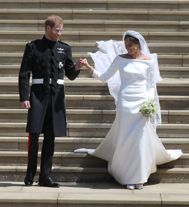 Meghan Markle i książę Harry zdjęcie z ich ślubu