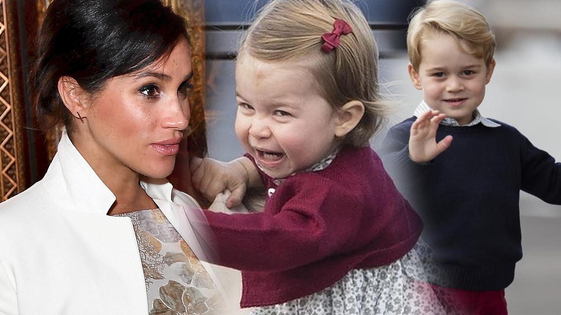 Dzieci Kate Middleton bardzo nie lubią Meghan Markle. Unikają jej jak ognia!