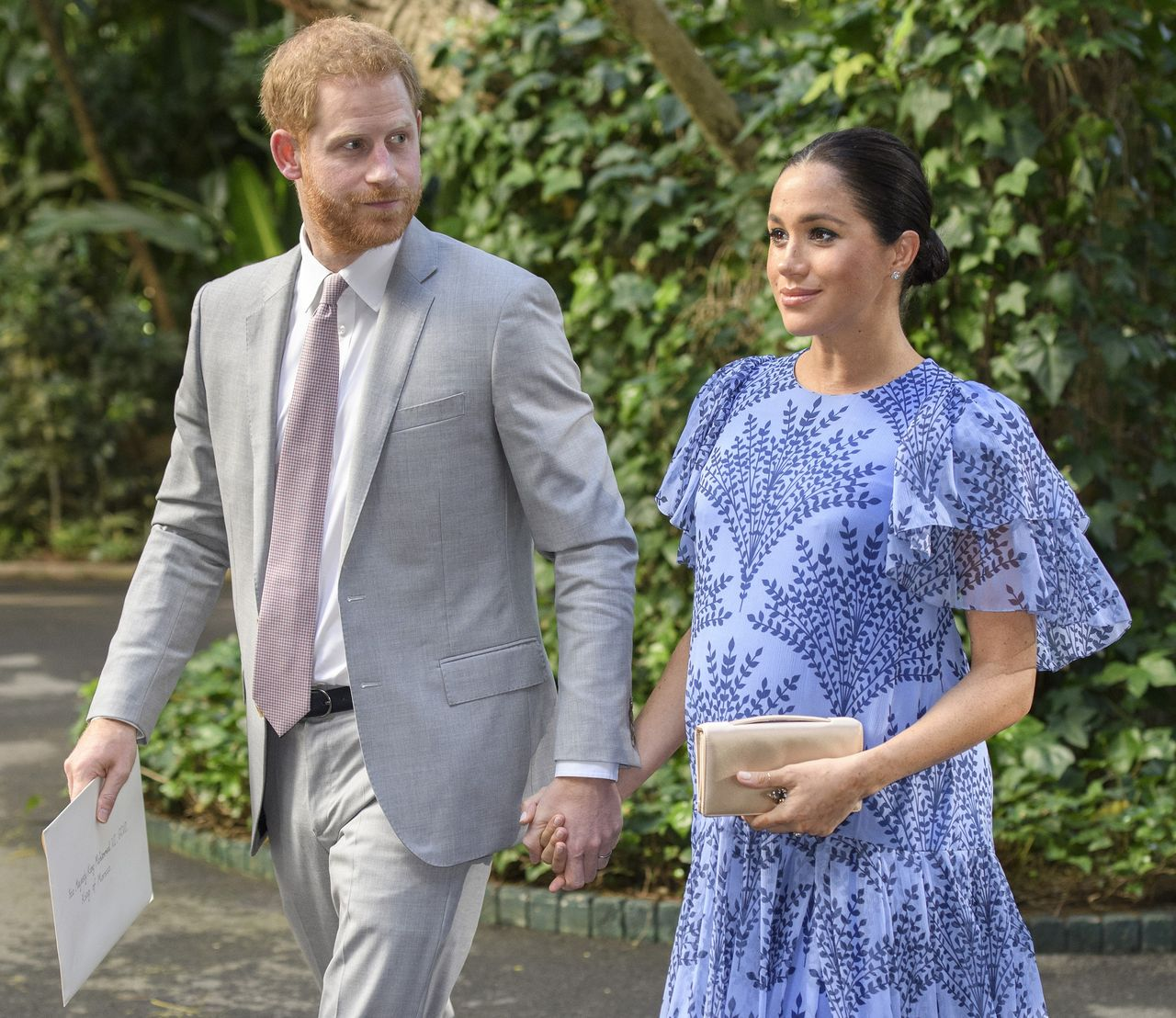 Harry and Meghan are received by HM The King of Morocco