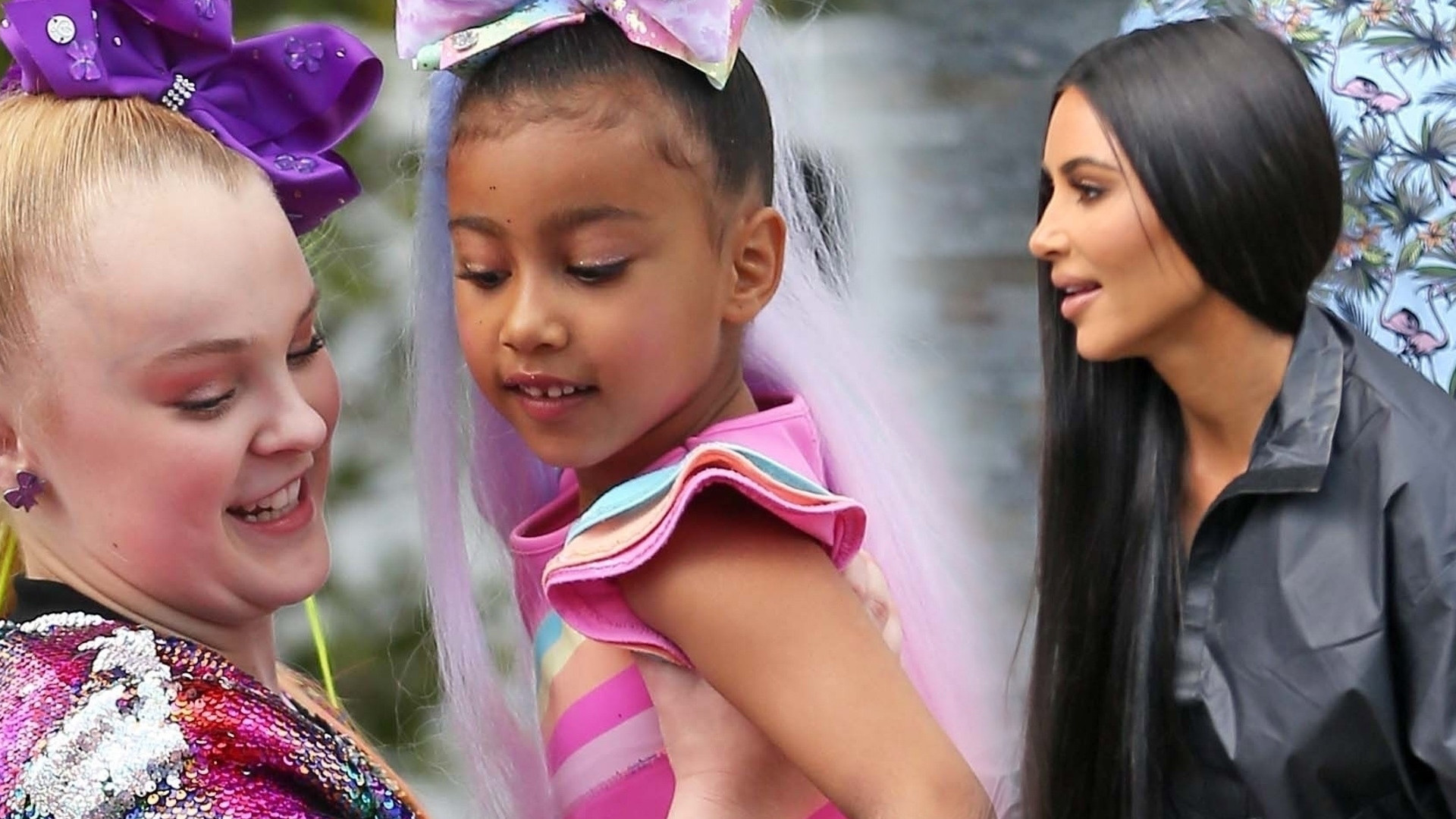 Kim Kardashian zaprowadziła North West do domu jej idolki – Jojo Siwy (ZDJĘCIA)