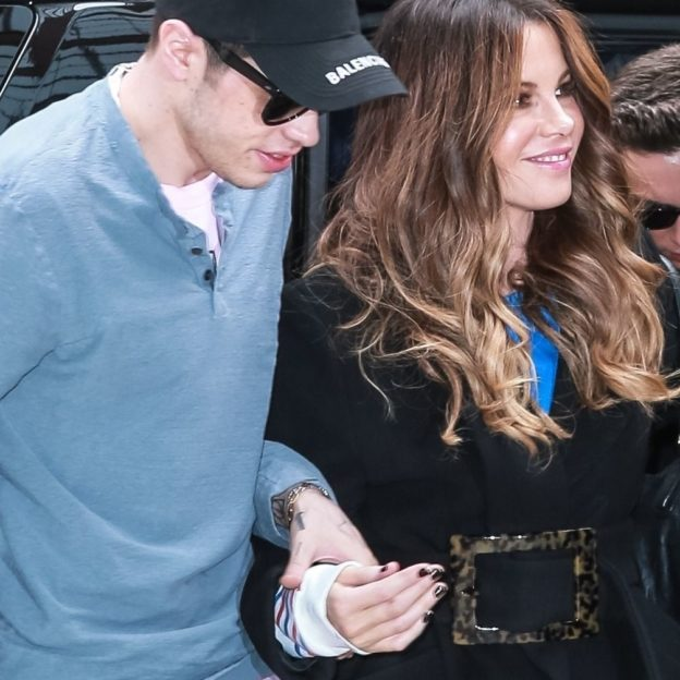 Pete Davidson holds hands while out with girlfriend Kate Beckinsale Pete Davidson, Kate Beckinsale