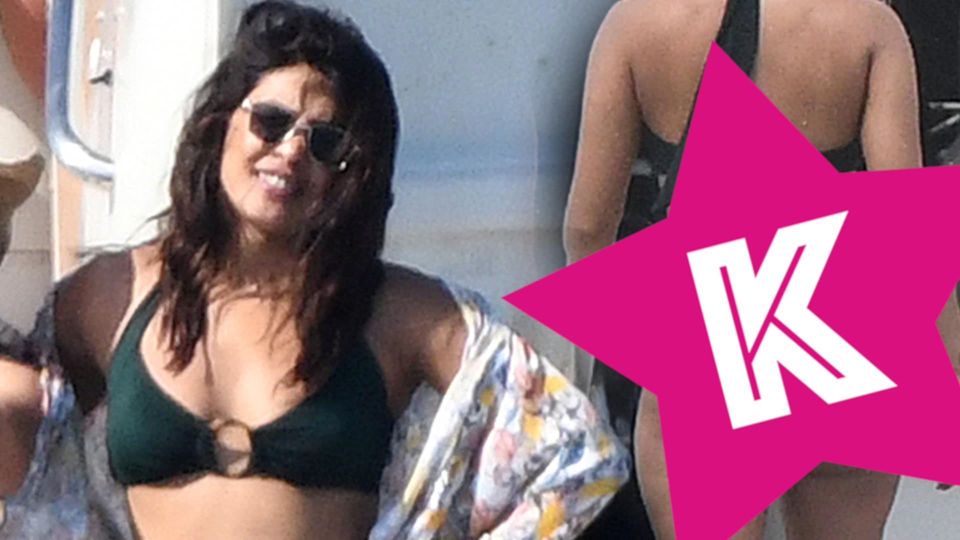 Priyanka Chopra w BIKINI nie wygląda jak supermodelka (ZDJĘCIA)
