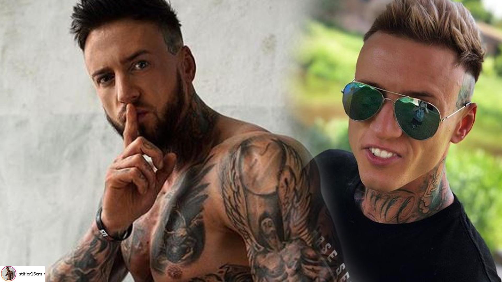 Stifler z Warsaw Shore zrobił tatuaż, który okazał się NIESMACZNYM żartem kierowanym do kobiet