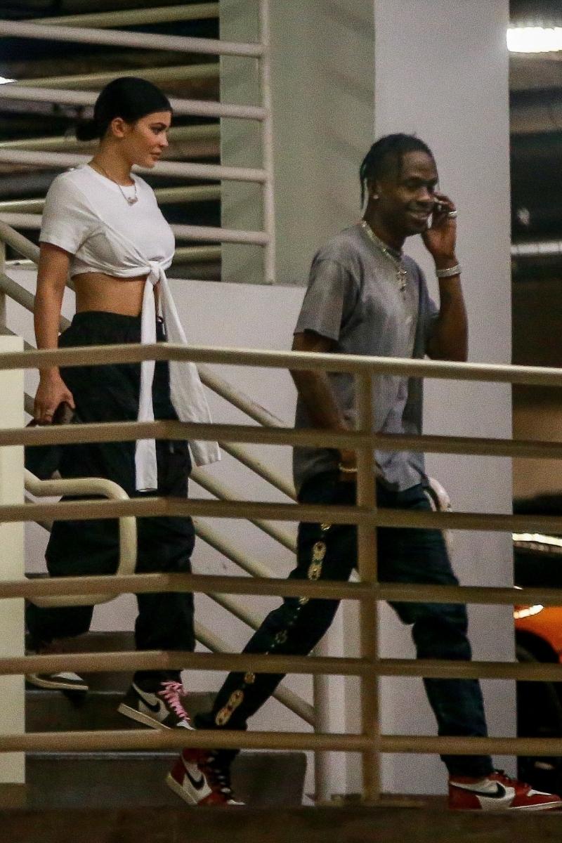 Kylie Jenner i Travis Scott na zakupach