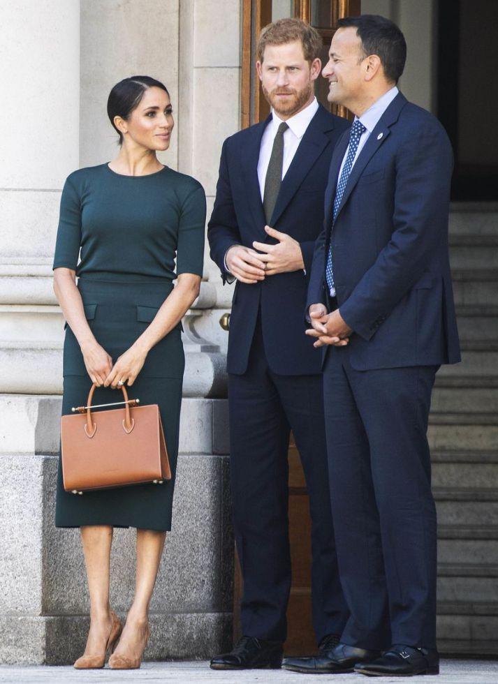 Meghan Markle i książę Harry na publicznym wystąpieniu