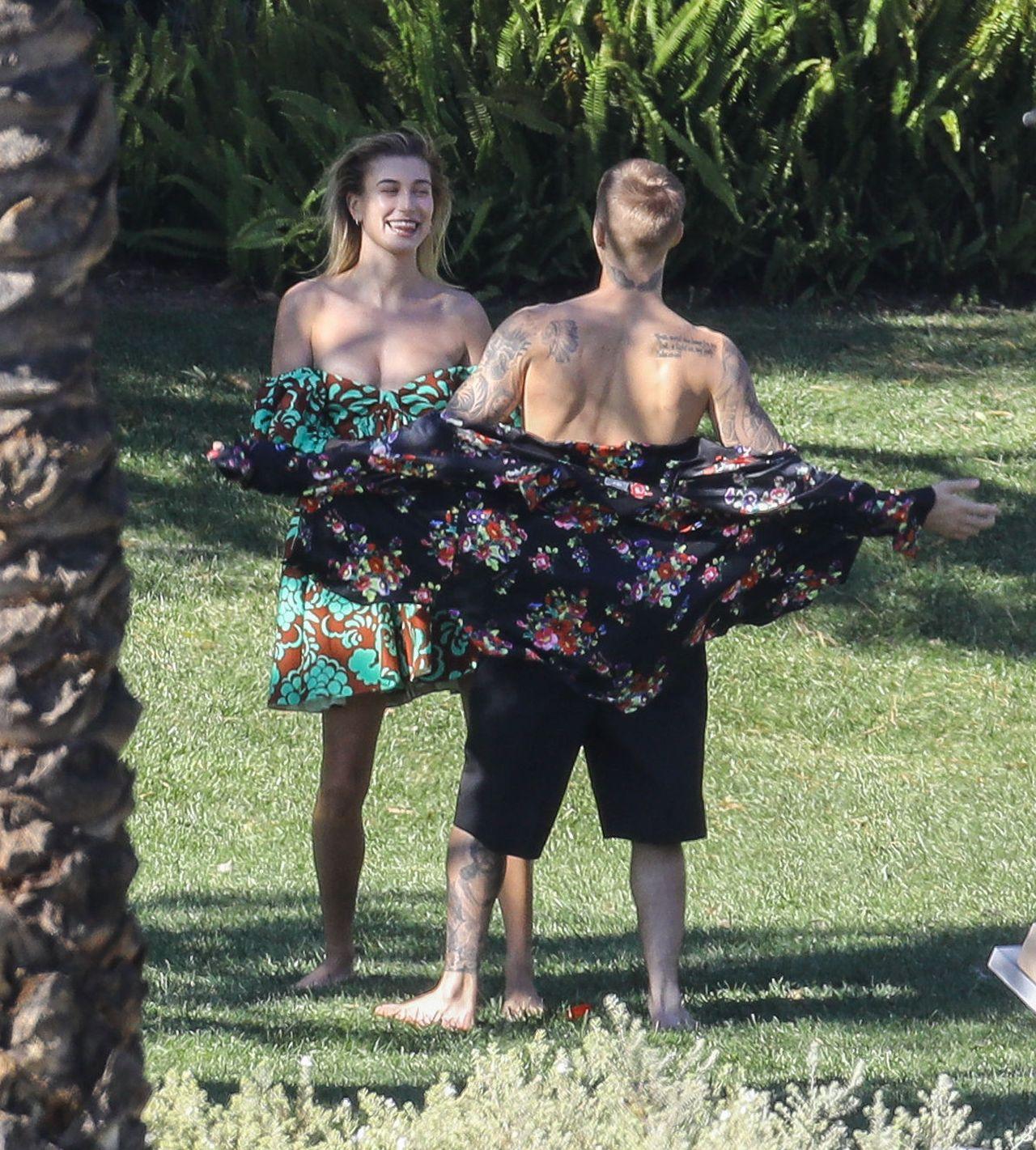 Hailey Baldwin i Justin Bieber na romantycznej sesji