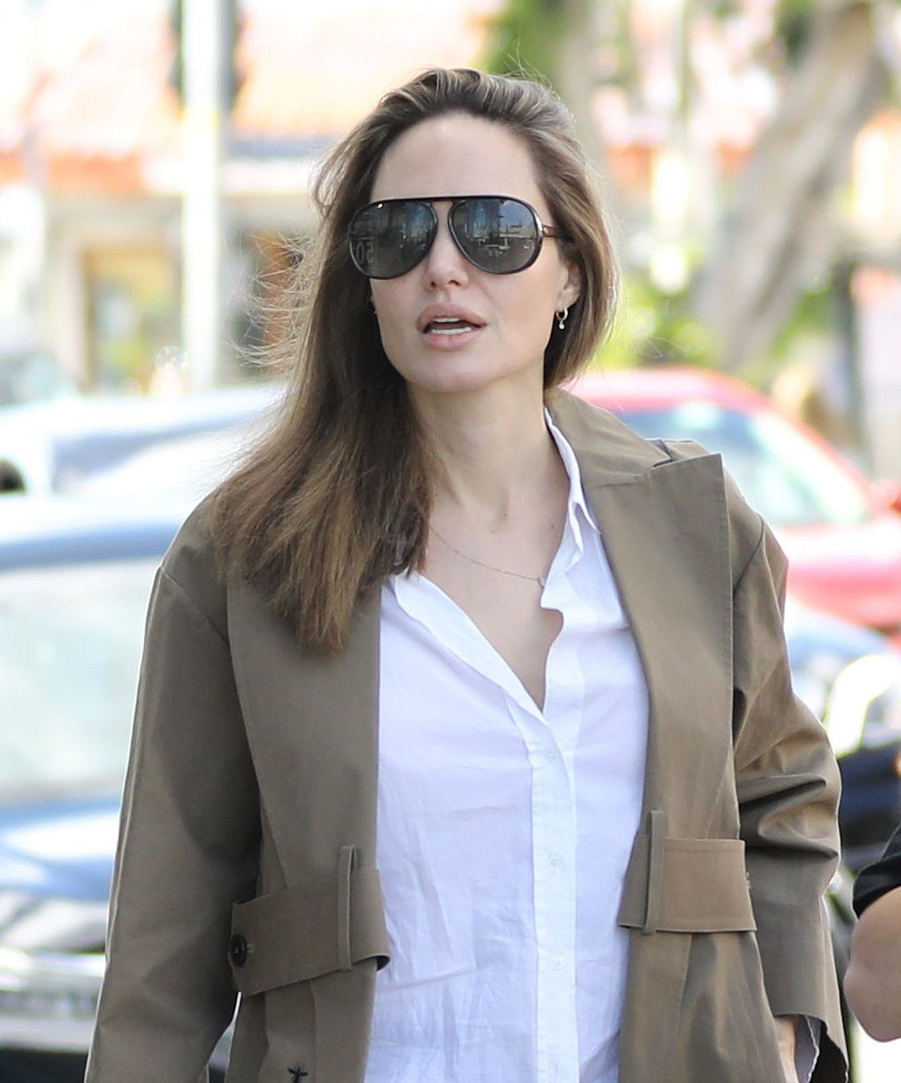 Angelina Jolie on a luxury shopping spree for Pax