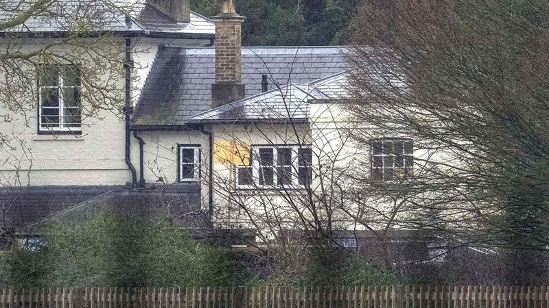 Dom Meghan Markle i księcia Harry'ego w Windsor