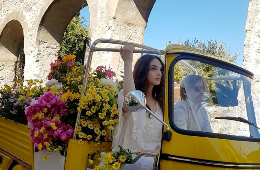 Deva Cassel, córka Moniki Bellucci i Vincenta Cassela na planie reklamy dla Dolce&Gabbana