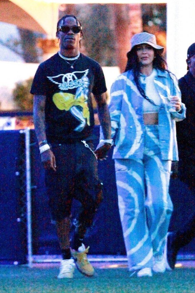 Kylie Jenner i Travis Scott na Coachelli 2019