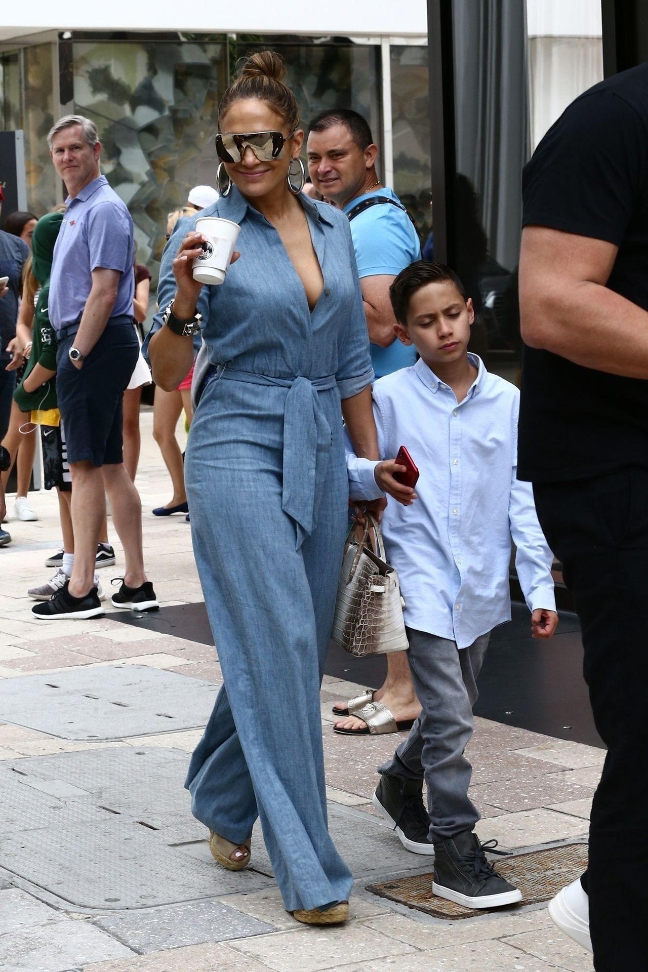 Jennifer Lopez z synem
