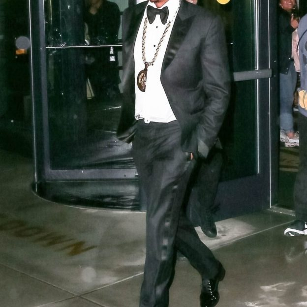 *EXCLUSIVE* Jay Z is in good spirits after his performance at Webster Hall
