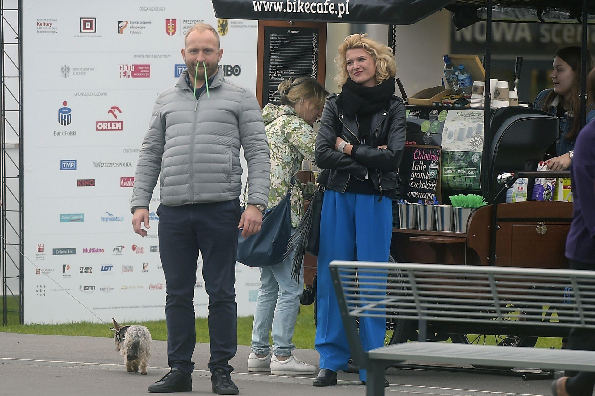scena z: Borys Szyc, Justyna Jeger-Nagłowska, SK:, , fot. Kurnikowski/AKPA