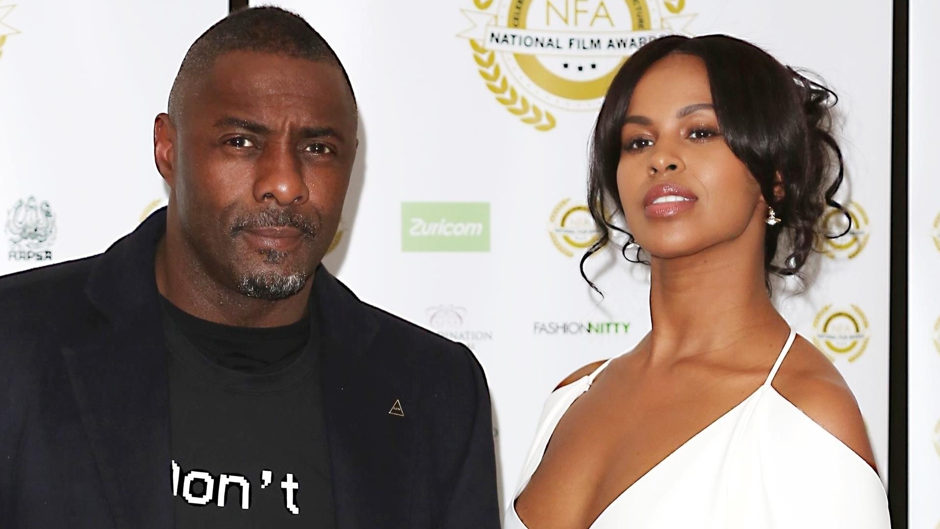 Idris Elba ożenił się – panna młoda, Sabrina Dhowre, miała na sobie prostą suknię od Very Wang