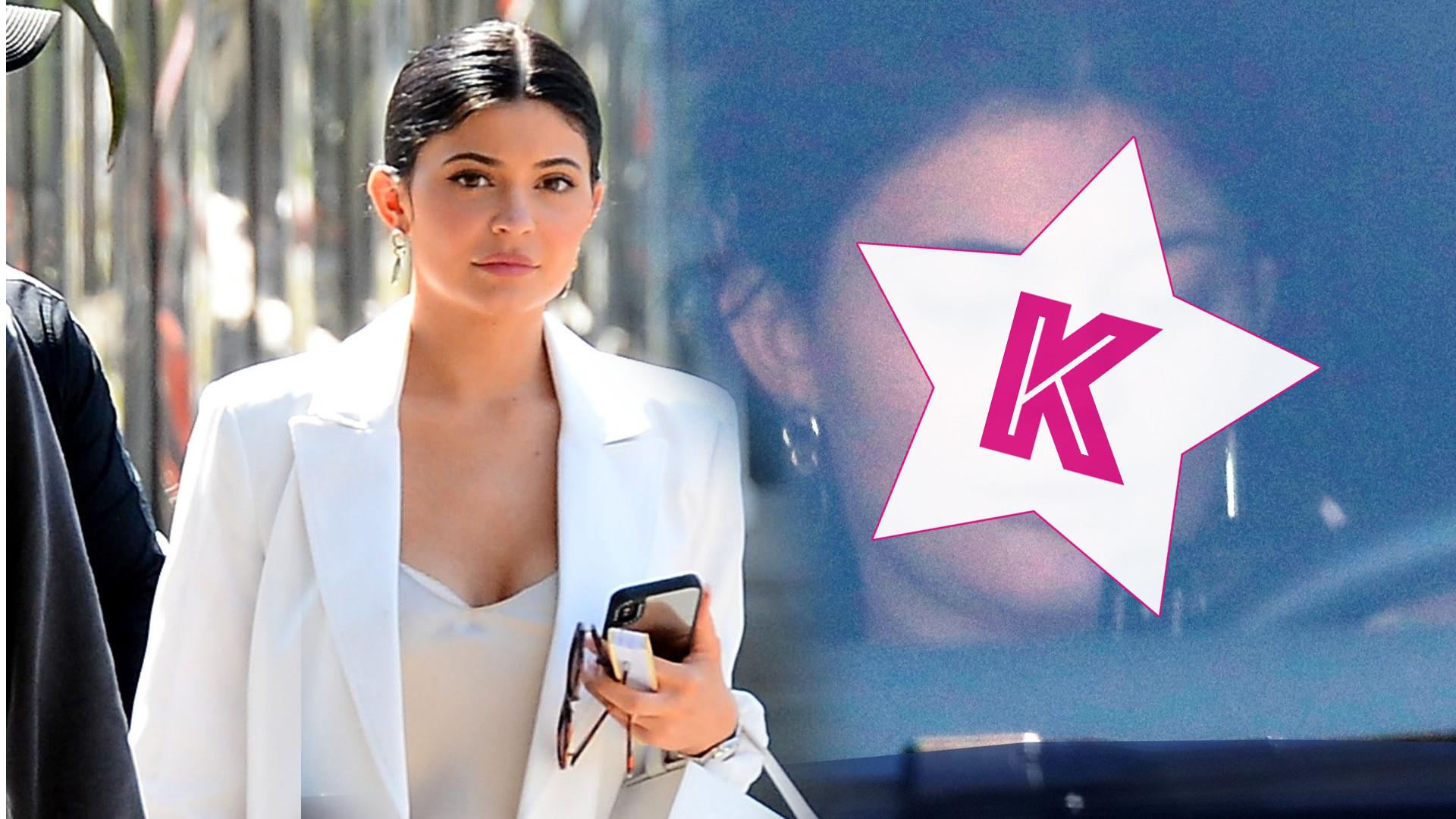 Królowa kosmetycznego imperium BEZ MAKIJAŻU – Kylie Jenner nie miała czasu na tapetę (ZDJĘCIA)
