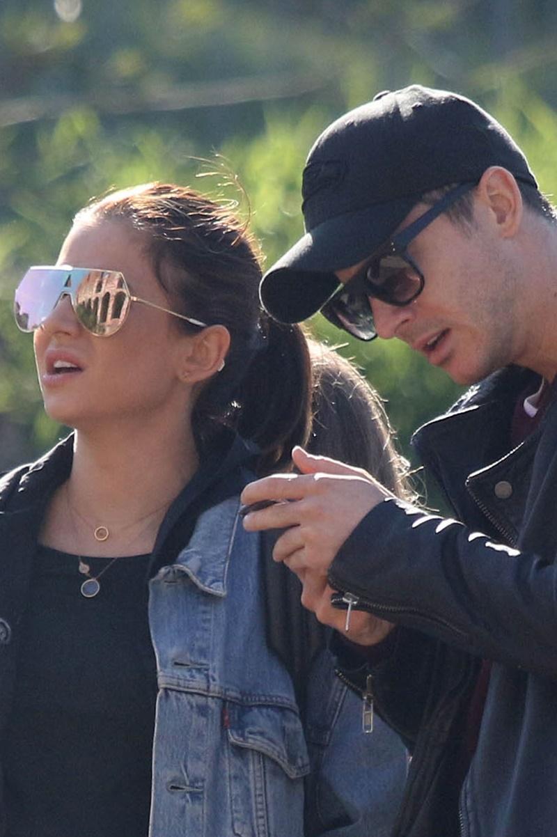 Anna Lewandowska i Robert Lewandowski w Rzymie w 2017 roku.