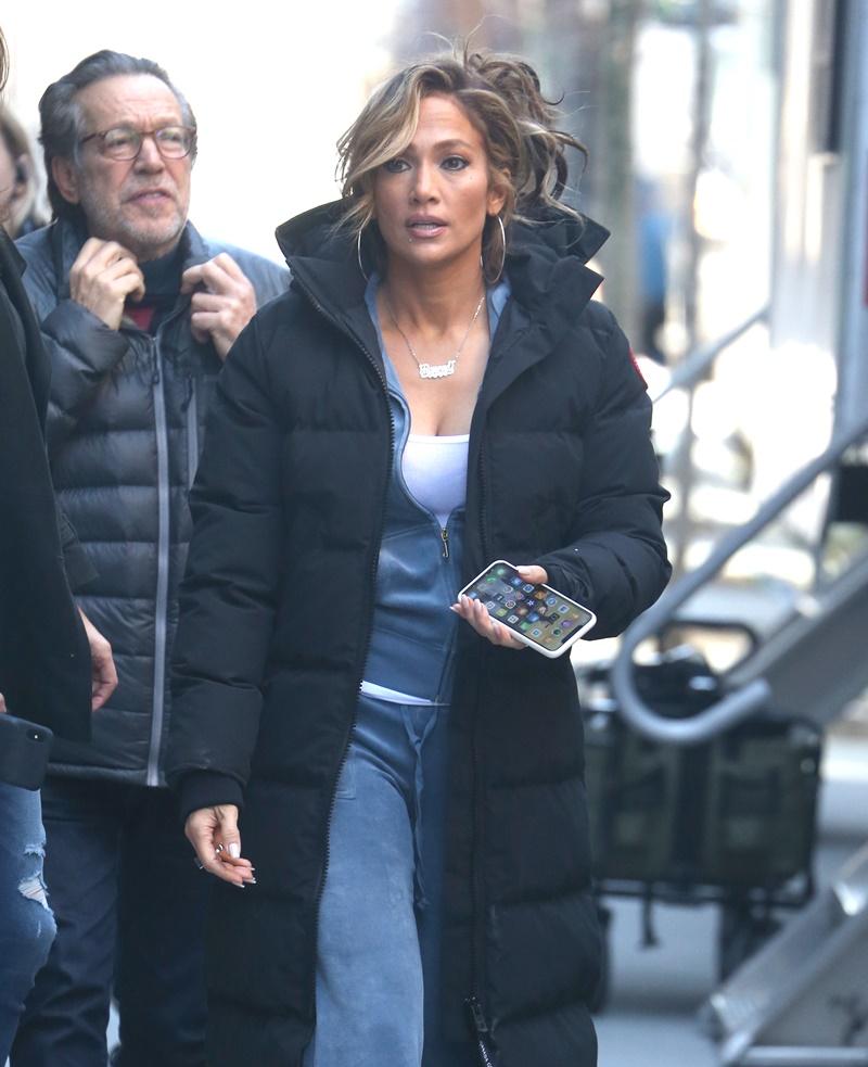 Jennifer Lopez w Nowym Jorku