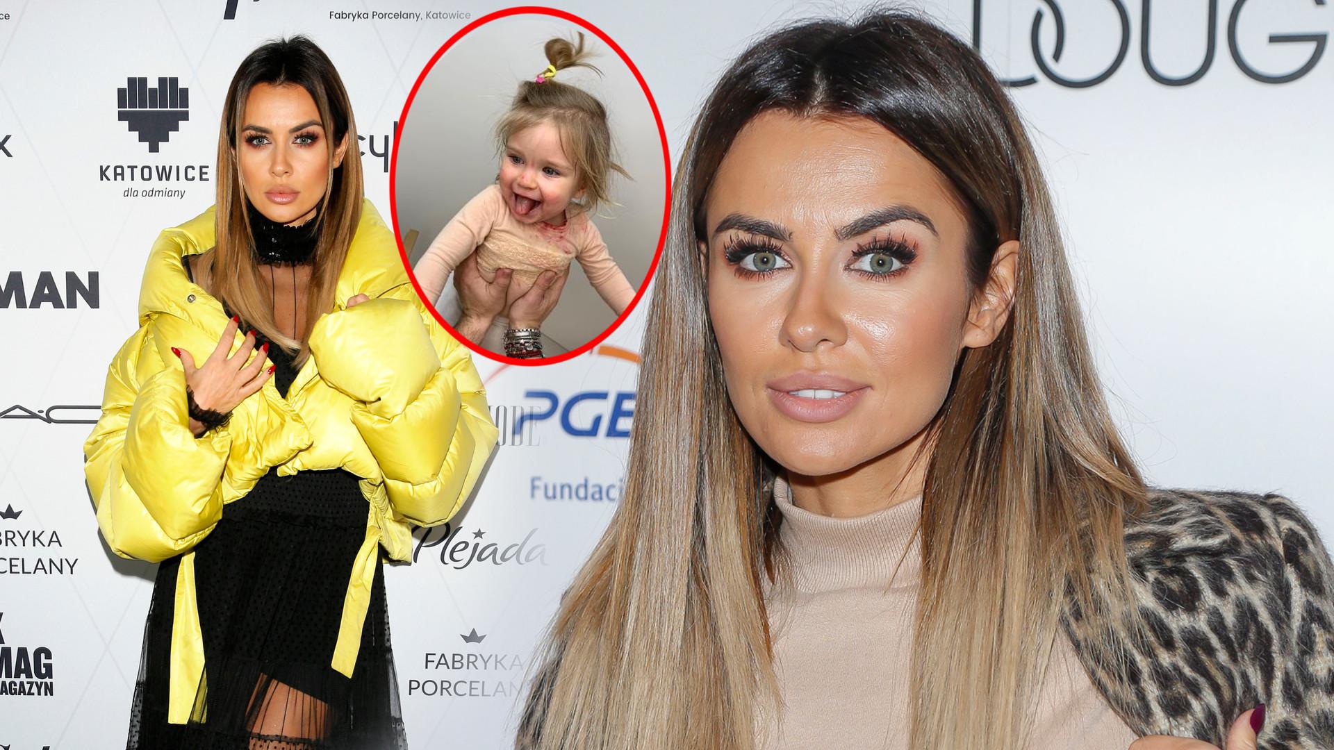 Fanka Natalii Siwiec pyta, dlaczego celebrytka nie przytula i nie pieści córki Mii