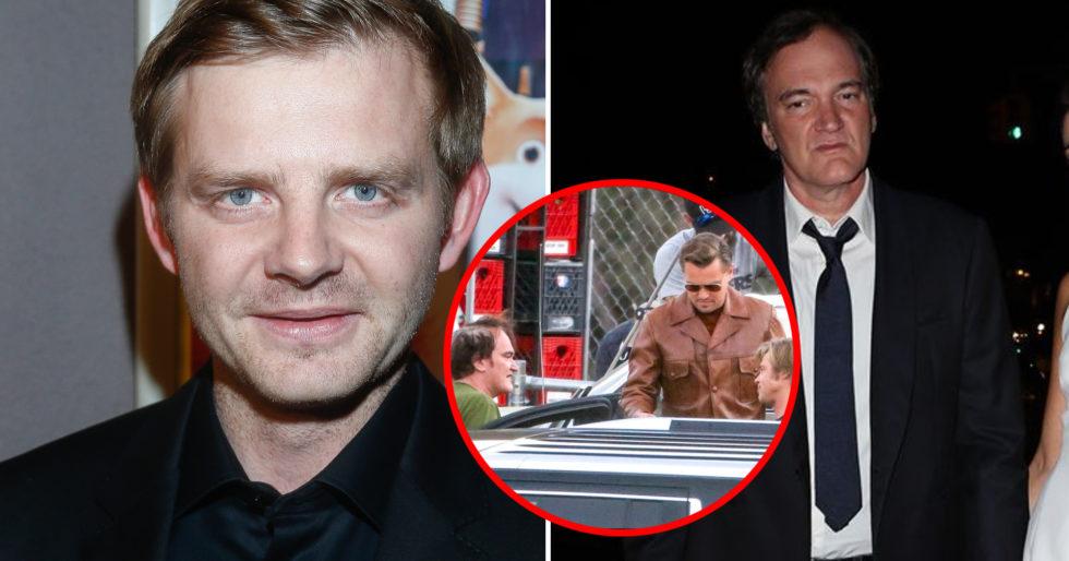 Rafał Zawierucha w filmie Quentina Tarantino g