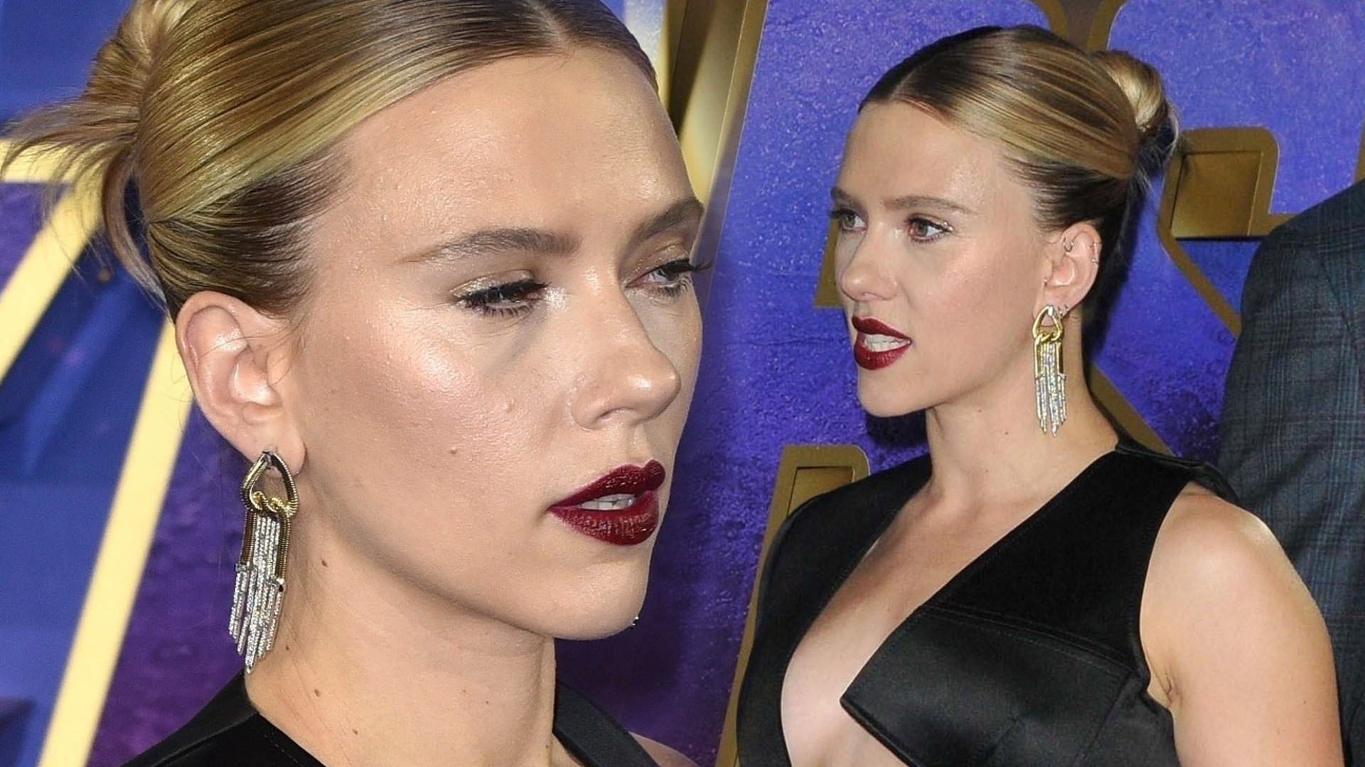 Scarlett Johansson BEZ STANIKA na premierze Avengers: Koniec gry w Londynie (ZDJĘCIA)