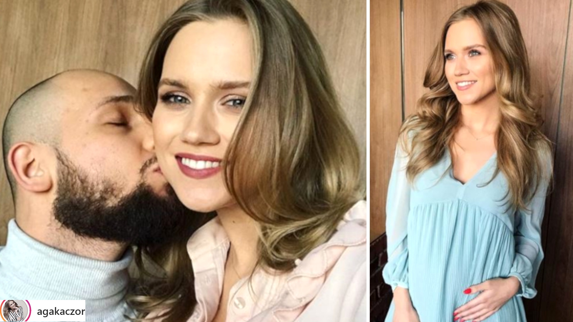 Czy Agnieszka Kaczorowska chce, żeby jej mąż brał udział w porodzie?