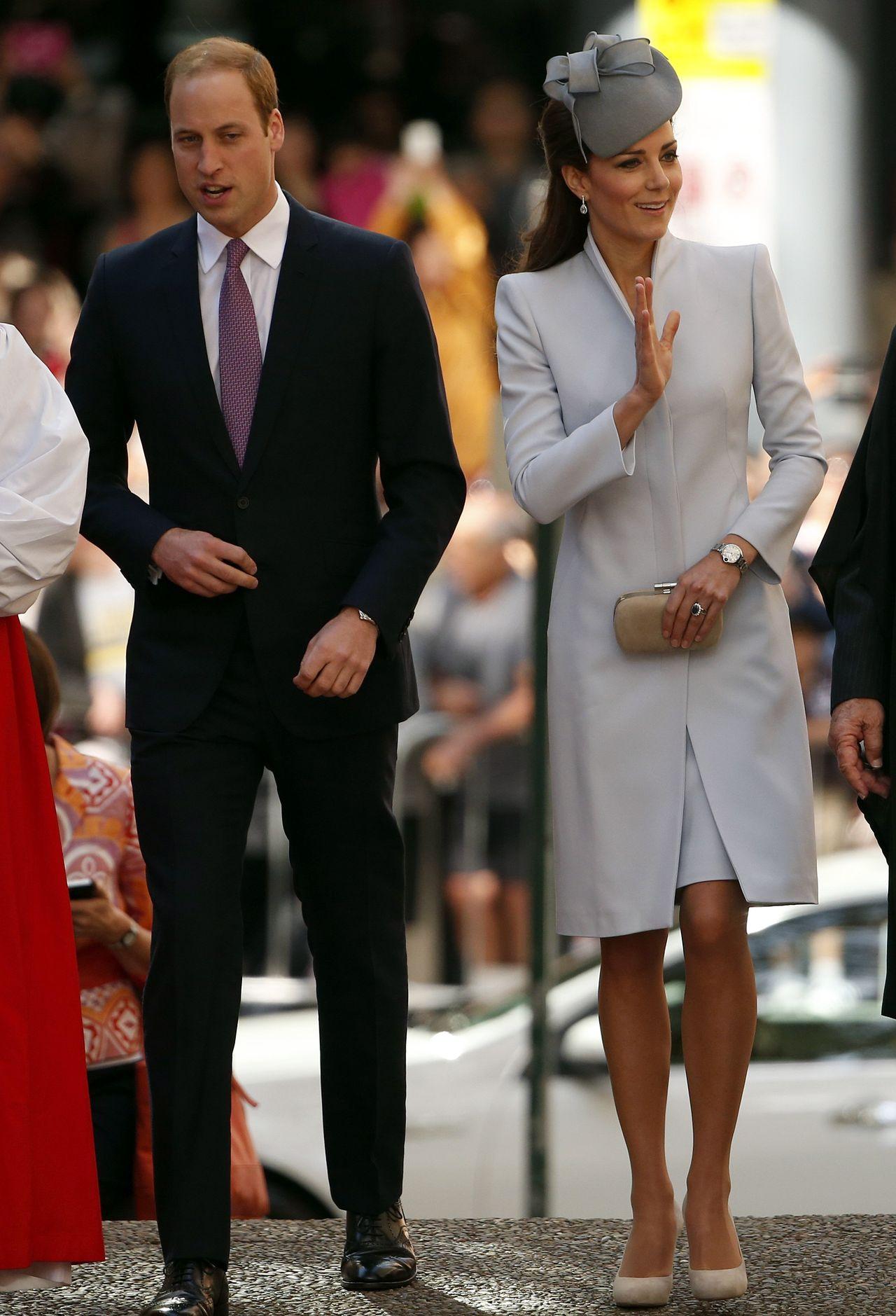 Kate Middleton w 2014 roku