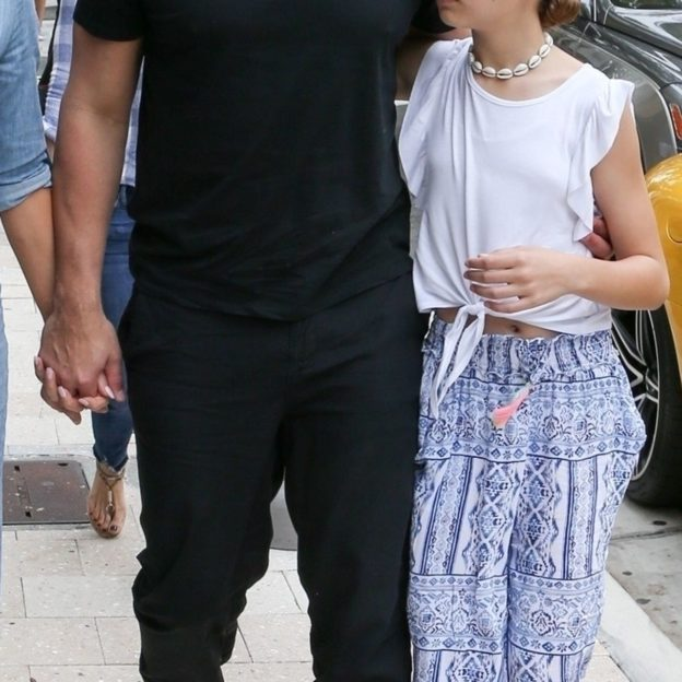 Jennifer Lopez and Alex Rodriguez head out to lunch in the Miami Design District