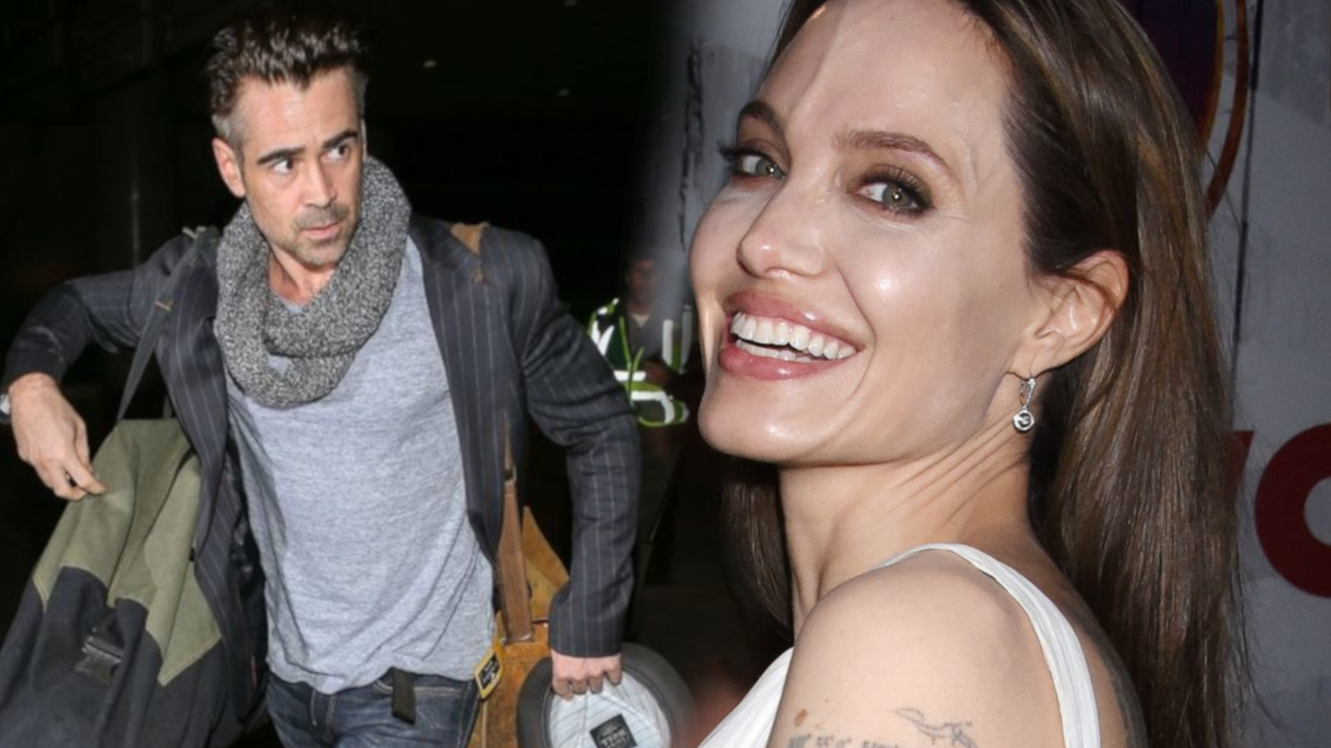 Nowe fakty na temat romansu Angeliny Jolie i Colina Farrella! Robi się gorąco