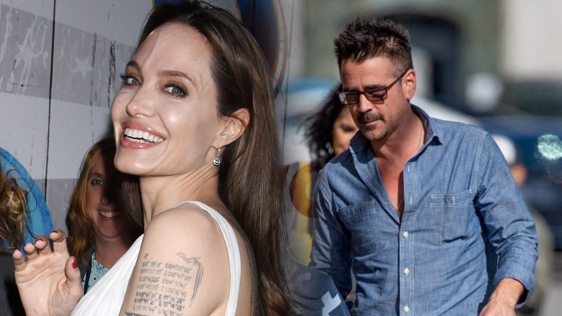Angelina Jolie i Colin Farrell mają romans – ten dowód ma potwierdzać plotki