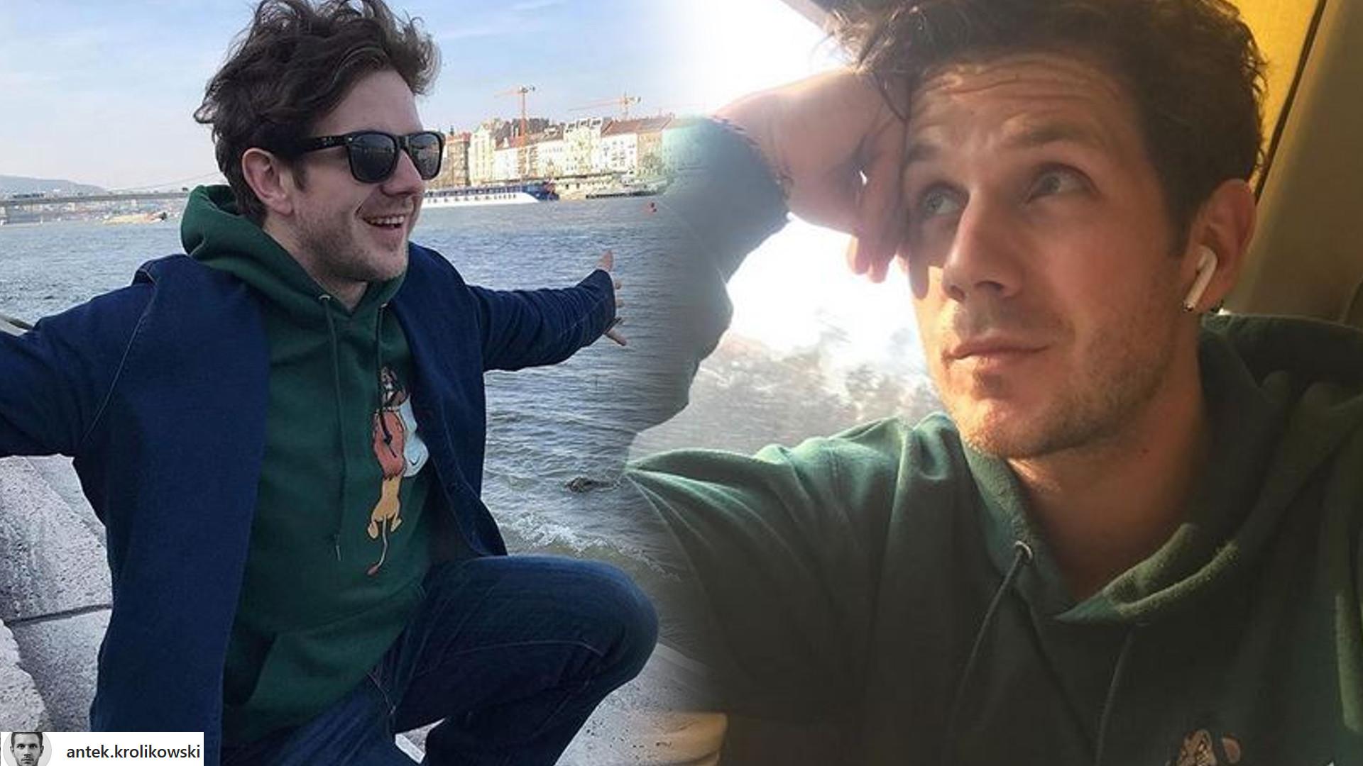 Antoni Królikowski komentuje na Instagramie swój nowy związek: Kocham Cię