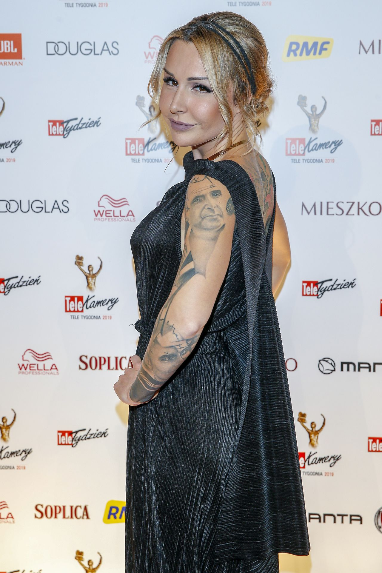 Blanka Lipińska pokazuje tatuaże