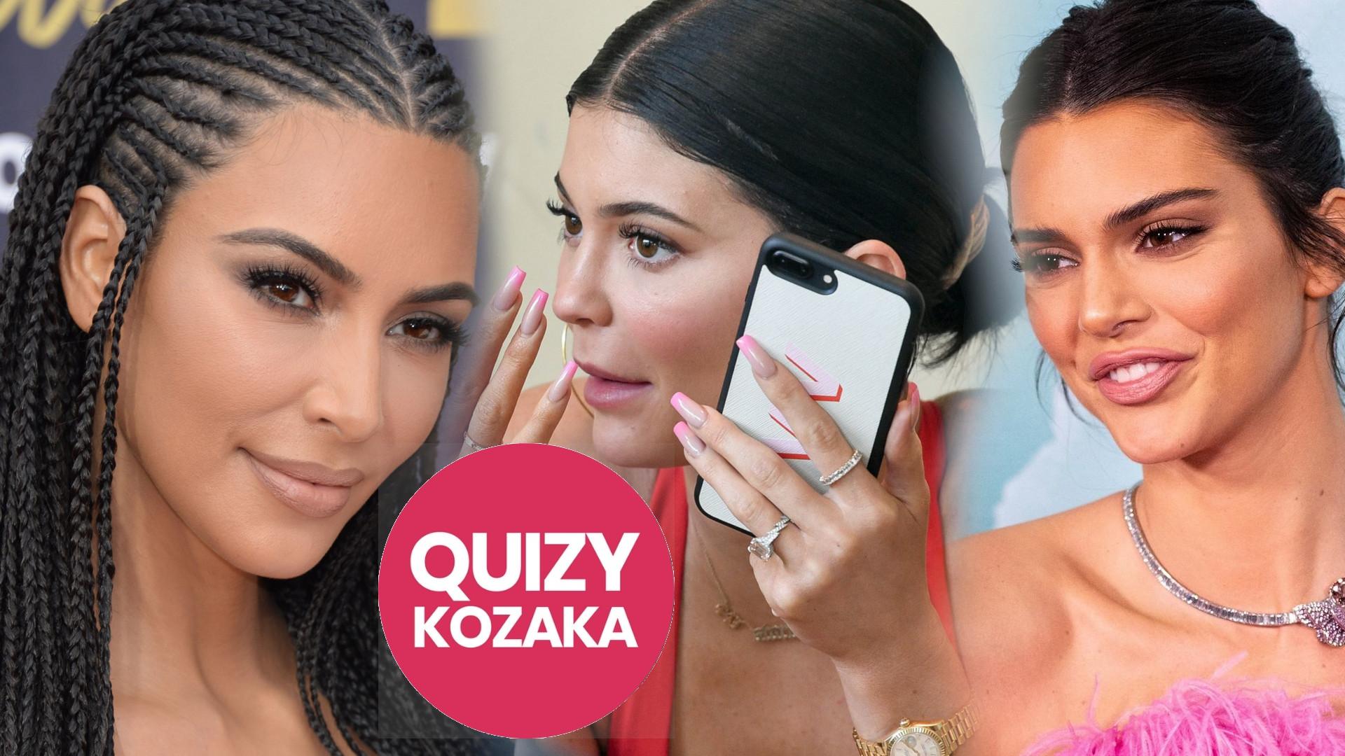 Jesteś jak Kim, Kylie, Khloe czy Kendall? Sprawdź, którą z sióstr Kardashian/Jenner jesteś!
