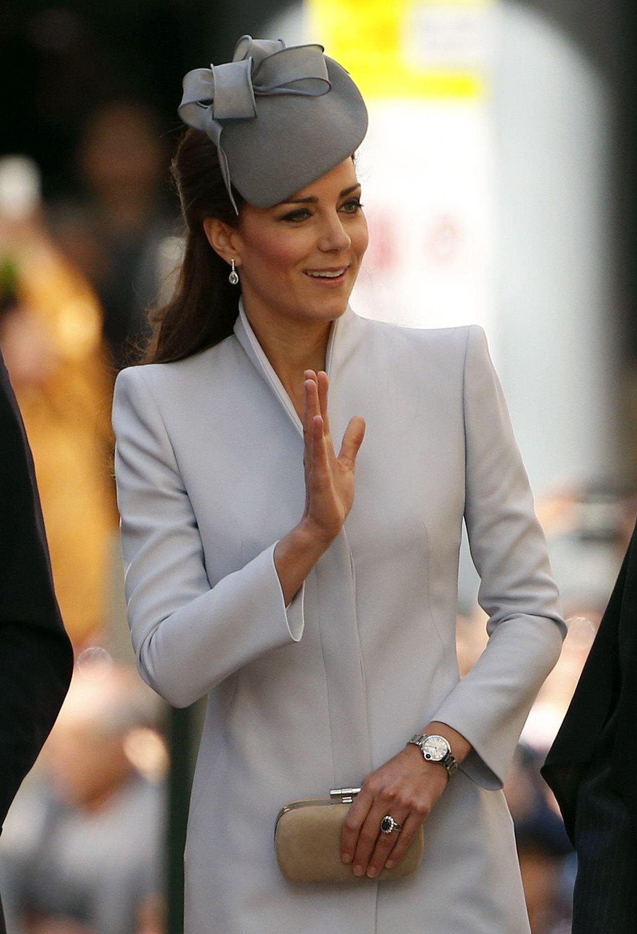 Księżna Kate w 2014 roku