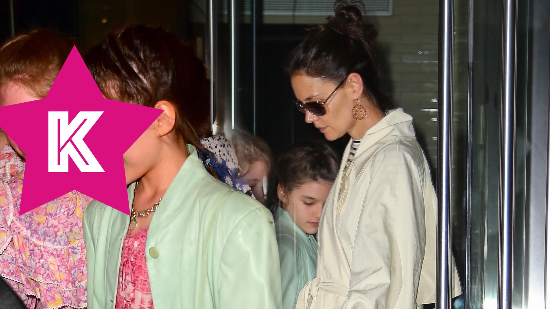 Katie Holmes zorganizowała córce urodziny. Tom Cruise się nie pojawił (ZDJĘCIA)