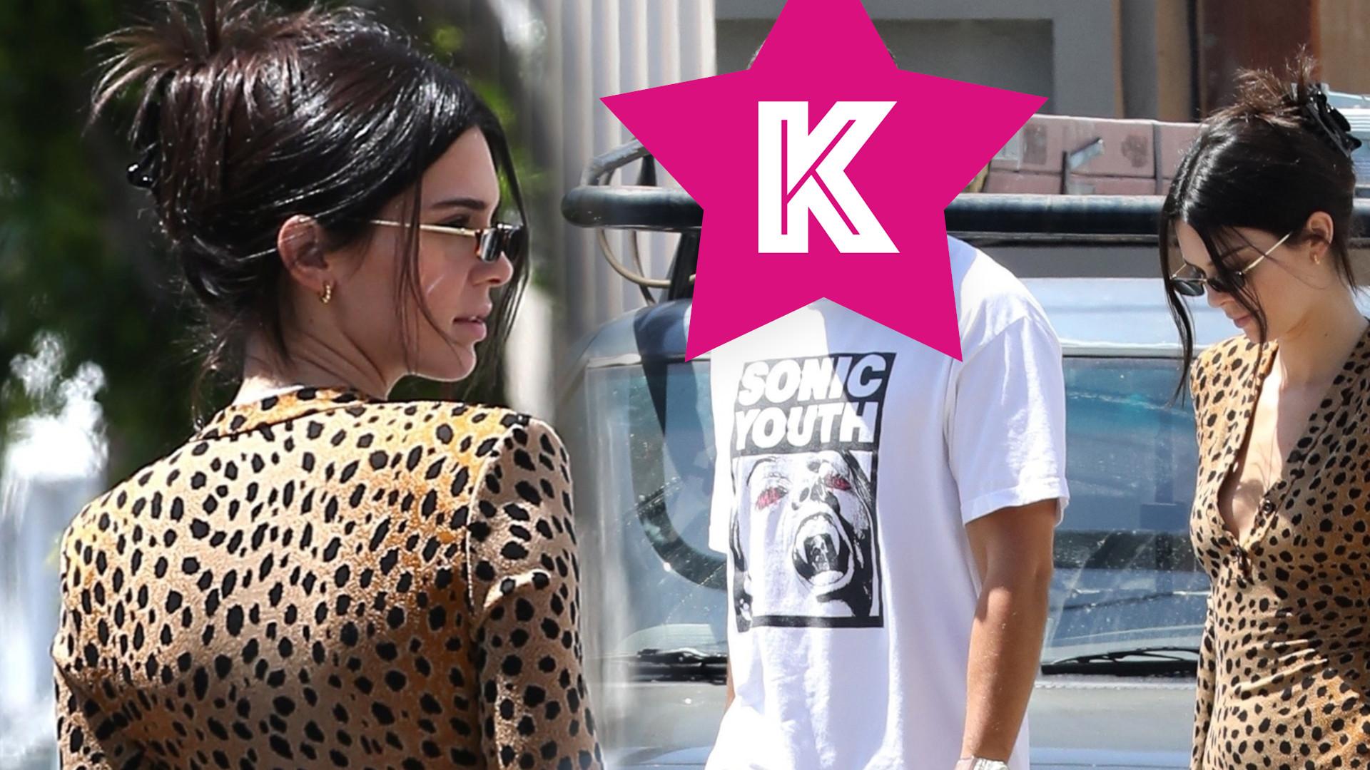 Kendall Jenner w obcisłej MINI na randce – rzadko widzimy ją w takich stylizacjach!