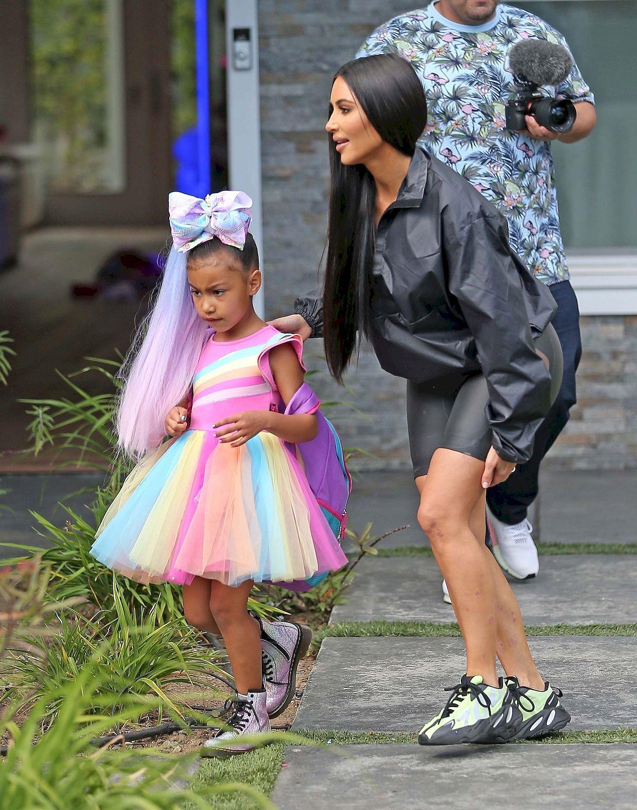 *EXCLUSIVE* North West and Kim Kardashian meet Youtube Star JoJo Siwa ahead of video collaboration **WEB MUST CALL FOR PRICING** Kim Kardashian, North West