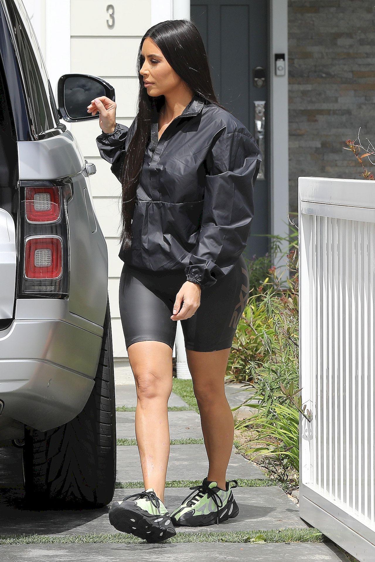 *EXCLUSIVE* Kim Kardashian takes daughter North West to meet JoJo Siwa for video collaboration **WEB MUST CALL FOR PRICING** Kim Kardashian